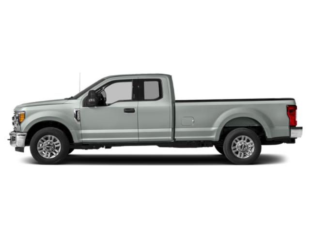 Silver Spruce 2019 Ford Super Duty F-350 SRW Pictures Super Duty F-350 SRW XLT 4WD SuperCab 8' Box photos side view