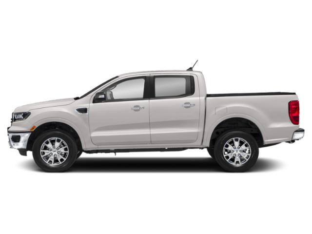White Platinum Tri-Coat 2019 Ford Ranger Pictures Ranger LARIAT 2WD SuperCrew 5' Box photos side view