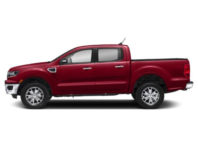 Hot Pepper Red Metallic Tinted Clearcoat 2019 Ford Ranger Pictures Ranger LARIAT 2WD SuperCrew 5' Box photos side view