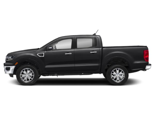 Shadow Black 2019 Ford Ranger Pictures Ranger LARIAT 2WD SuperCrew 5' Box photos side view