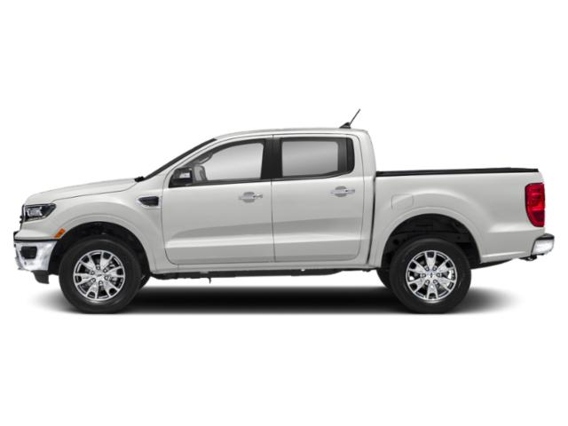 Oxford White 2019 Ford Ranger Pictures Ranger LARIAT 2WD SuperCrew 5' Box photos side view