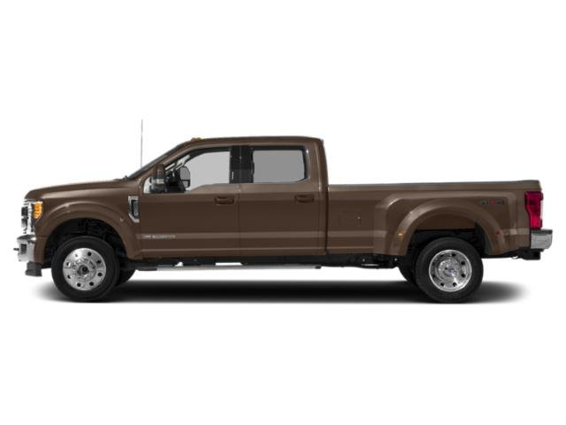 Stone Gray Metallic 2019 Ford Super Duty F-450 DRW Pictures Super Duty F-450 DRW LARIAT 2WD Crew Cab 8' Box photos side view