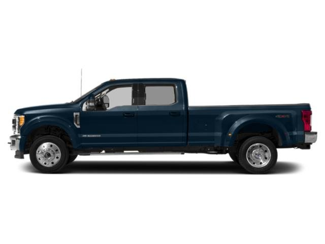 Blue Jeans Metallic 2019 Ford Super Duty F-450 DRW Pictures Super Duty F-450 DRW LARIAT 4WD Crew Cab 8' Box photos side view