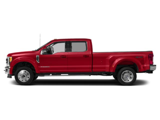 Race Red 2019 Ford Super Duty F-450 DRW Pictures Super Duty F-450 DRW LARIAT 4WD Crew Cab 8' Box photos side view