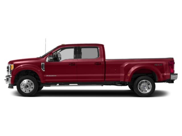 Ruby Red Metallic Tinted Clearcoat 2019 Ford Super Duty F-450 DRW Pictures Super Duty F-450 DRW LARIAT 2WD Crew Cab 8' Box photos side view