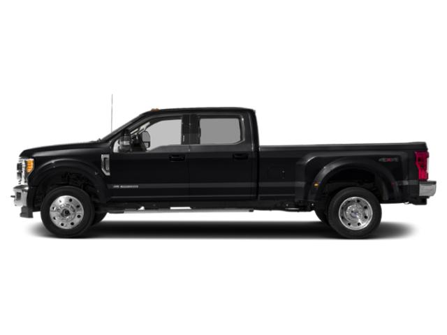 Agate Black Metallic 2019 Ford Super Duty F-450 DRW Pictures Super Duty F-450 DRW LARIAT 4WD Crew Cab 8' Box photos side view