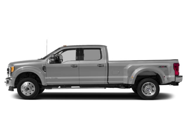 Ingot Silver Metallic 2019 Ford Super Duty F-450 DRW Pictures Super Duty F-450 DRW LARIAT 4WD Crew Cab 8' Box photos side view