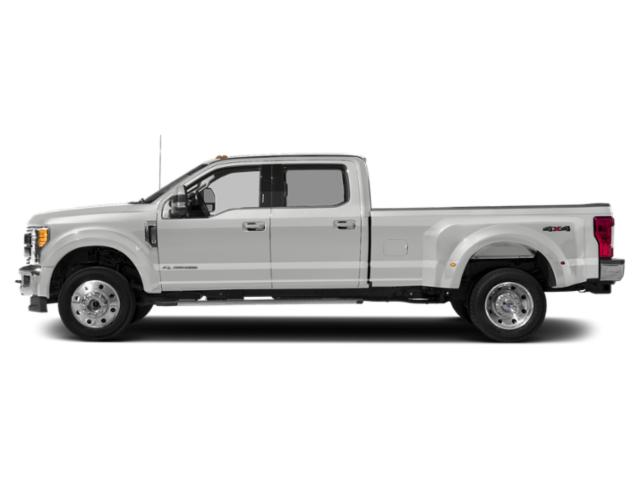 Oxford White 2019 Ford Super Duty F-450 DRW Pictures Super Duty F-450 DRW LARIAT 4WD Crew Cab 8' Box photos side view