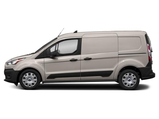 Silver 2019 Ford Transit Connect Van Pictures Transit Connect Van XL SWB w/Rear Symmetrical Doors photos side view
