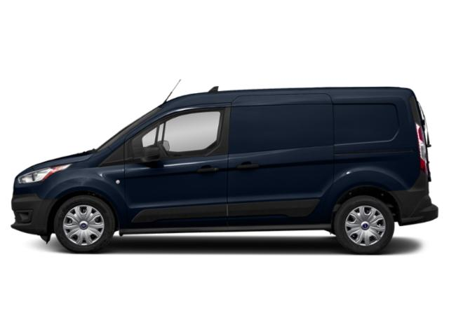 Dark Blue 2019 Ford Transit Connect Van Pictures Transit Connect Van XL SWB w/Rear Symmetrical Doors photos side view