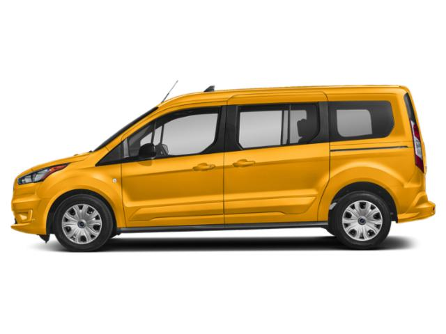 School Bus Yellow 2019 Ford Transit Connect Wagon Pictures Transit Connect Wagon XL LWB w/Rear Symmetrical Doors photos side view