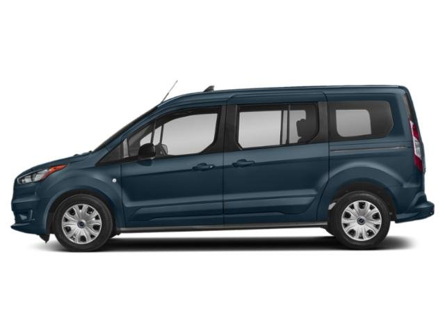 Blue Metallic 2019 Ford Transit Connect Wagon Pictures Transit Connect Wagon XL LWB w/Rear Symmetrical Doors photos side view