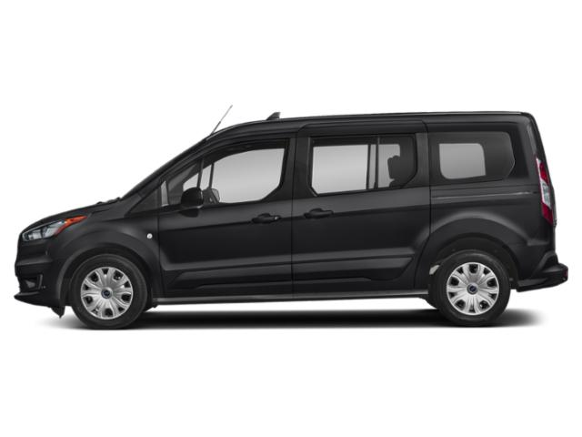 Shadow Black 2019 Ford Transit Connect Wagon Pictures Transit Connect Wagon XL LWB w/Rear Symmetrical Doors photos side view