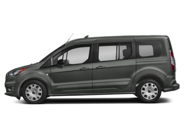 Magnetic Metallic 2019 Ford Transit Connect Wagon Pictures Transit Connect Wagon XL LWB w/Rear Symmetrical Doors photos side view