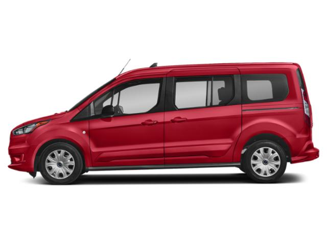 Race Red 2019 Ford Transit Connect Wagon Pictures Transit Connect Wagon XL LWB w/Rear Symmetrical Doors photos side view