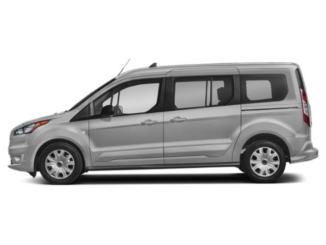 Silver 2019 Ford Transit Connect Wagon Pictures Transit Connect Wagon XLT LWB w/Rear Liftgate photos side view