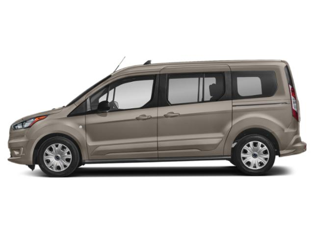 Diffused Silver Metallic 2019 Ford Transit Connect Wagon Pictures Transit Connect Wagon XLT LWB w/Rear Liftgate photos side view
