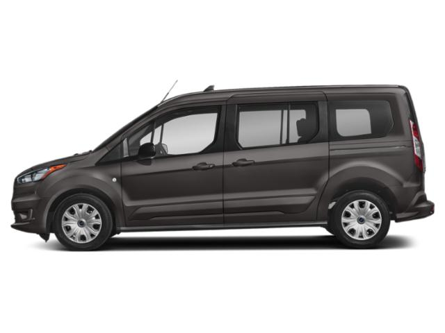 Magnetic Metallic 2019 Ford Transit Connect Wagon Pictures Transit Connect Wagon XLT LWB w/Rear Liftgate photos side view