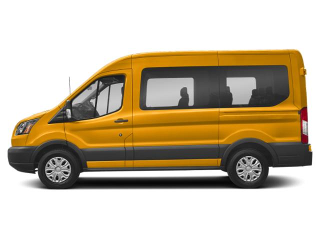 School Bus Yellow 2019 Ford Transit Passenger Wagon Pictures Transit Passenger Wagon T-150 130 Low Roof XL Swing-Out RH Dr photos side view