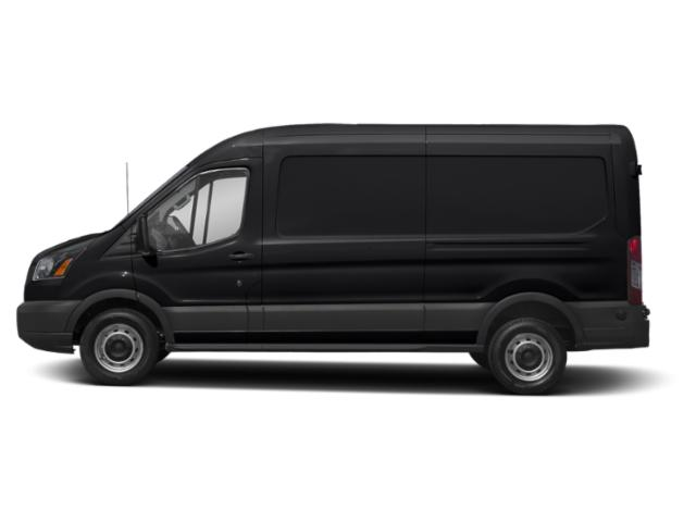 Shadow Black 2019 Ford Transit Van Pictures Transit Van T-250 148 Med Rf 9000 GVWR Sliding RH Dr photos side view