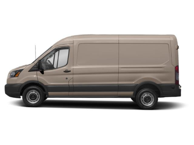 White Gold Metallic 2019 Ford Transit Van Pictures Transit Van T-250 148 Med Rf 9000 GVWR Sliding RH Dr photos side view