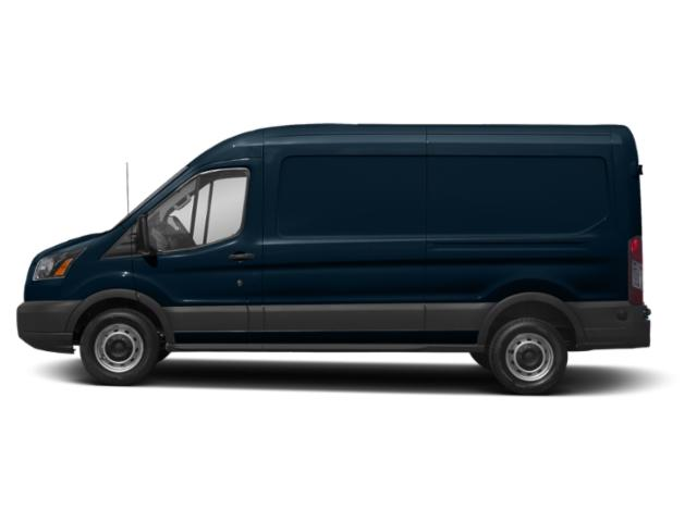 Blue Jeans Metallic 2019 Ford Transit Van Pictures Transit Van T-250 148 Med Rf 9000 GVWR Sliding RH Dr photos side view