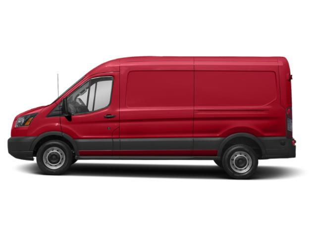 Race Red 2019 Ford Transit Van Pictures Transit Van T-250 148 Med Rf 9000 GVWR Sliding RH Dr photos side view