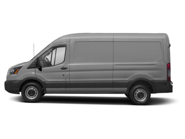 Ingot Silver Metallic 2019 Ford Transit Van Pictures Transit Van T-250 148 Med Rf 9000 GVWR Sliding RH Dr photos side view