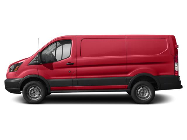 Race Red 2019 Ford Transit Van Pictures Transit Van T-250 130 Low Rf 9000 GVWR Sliding RH Dr photos side view