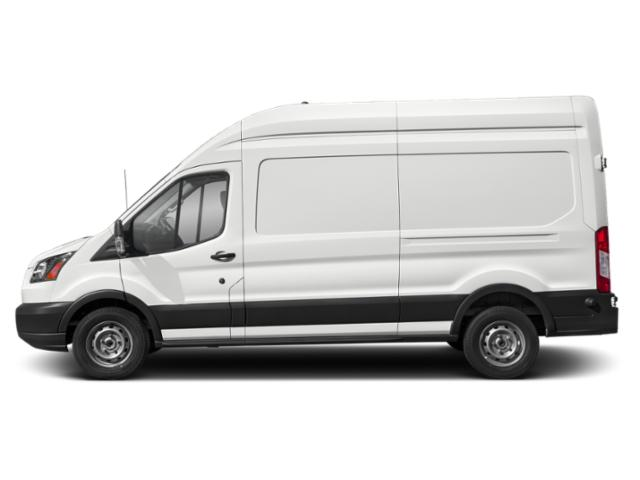 Oxford White 2019 Ford Transit Van Pictures Transit Van T-250 148 Hi Rf 9000 GVWR Dual Dr photos side view