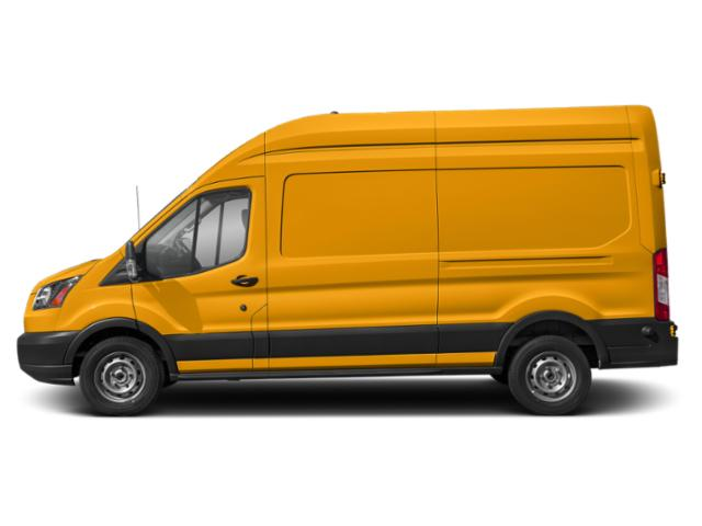 School Bus Yellow 2019 Ford Transit Van Pictures Transit Van T-250 148 Hi Rf 9000 GVWR Dual Dr photos side view