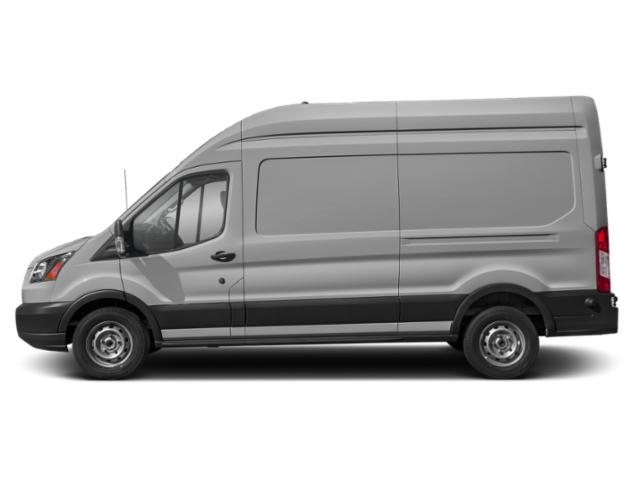 Ingot Silver Metallic 2019 Ford Transit Van Pictures Transit Van T-250 148 Hi Rf 9000 GVWR Dual Dr photos side view