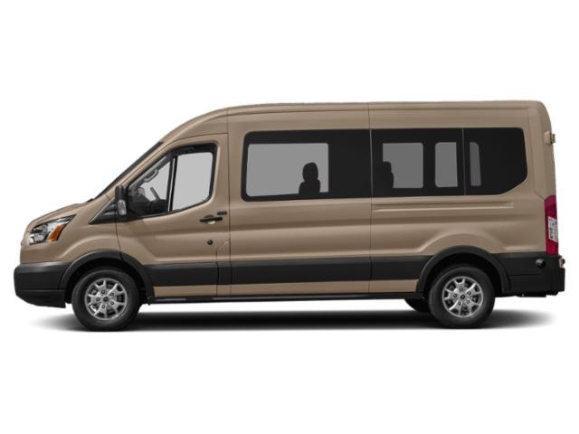 White Gold Metallic 2019 Ford Transit Van Pictures Transit Van T-350 HD 148 EL Hi Rf 10360 GVWR Sldng RH Dr DRW photos side view