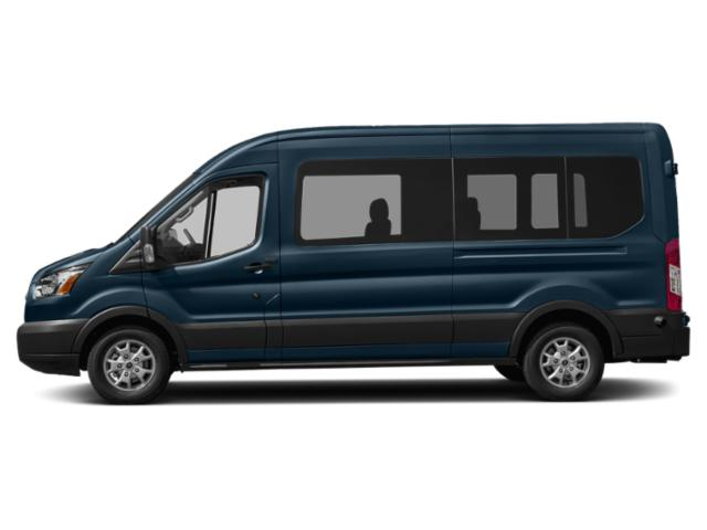Blue Jeans Metallic 2019 Ford Transit Van Pictures Transit Van T-350 HD 148 EL Hi Rf 10360 GVWR Sldng RH Dr DRW photos side view