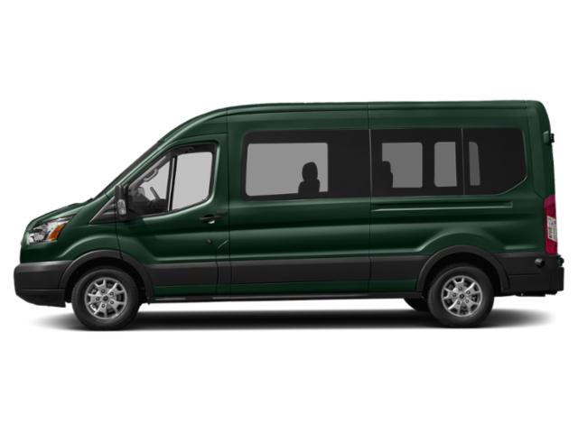 Green Gem Metallic 2019 Ford Transit Van Pictures Transit Van T-350 HD 148 EL Hi Rf 10360 GVWR Sldng RH Dr DRW photos side view