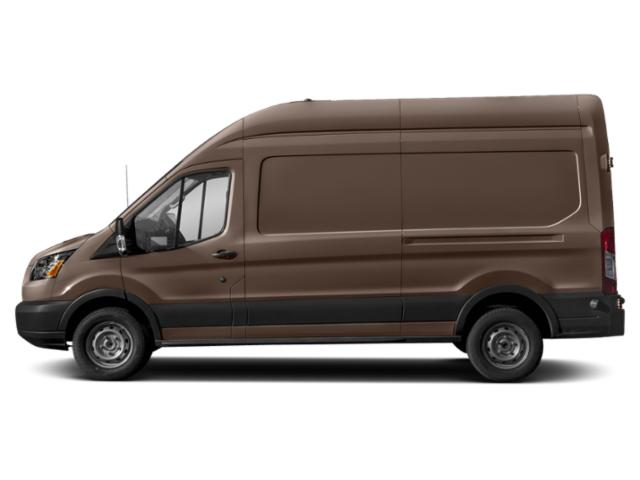 Stone Gray Metallic 2019 Ford Transit Van Pictures Transit Van T-350 130 Med Rf 9500 GVWR Dual Dr photos side view