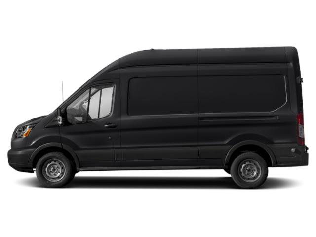 Shadow Black 2019 Ford Transit Van Pictures Transit Van T-350 130 Med Rf 9500 GVWR Dual Dr photos side view