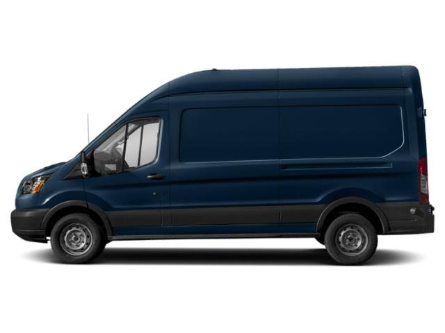 Blue Jeans Metallic 2019 Ford Transit Van Pictures Transit Van T-350 130 Med Rf 9500 GVWR Dual Dr photos side view