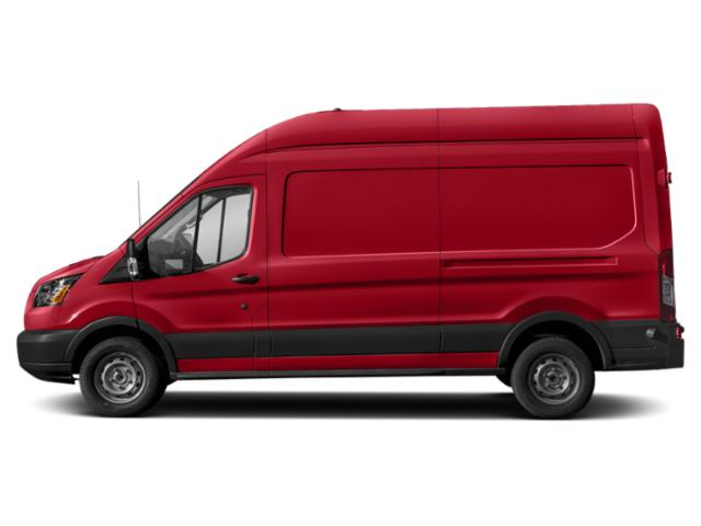 Race Red 2019 Ford Transit Van Pictures Transit Van T-350 130 Med Rf 9500 GVWR Dual Dr photos side view