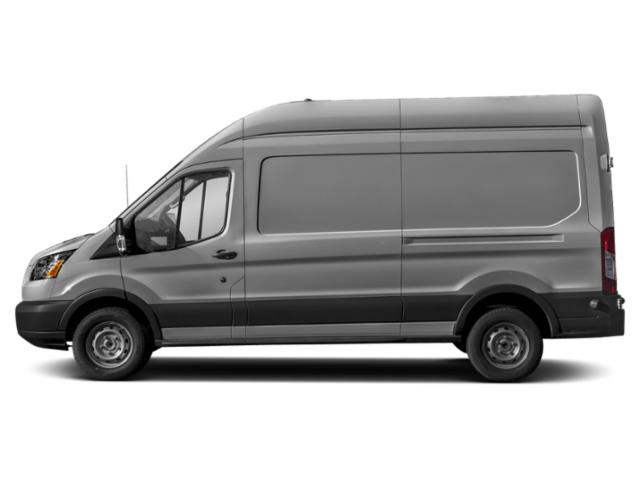Ingot Silver Metallic 2019 Ford Transit Van Pictures Transit Van T-350 130 Med Rf 9500 GVWR Dual Dr photos side view