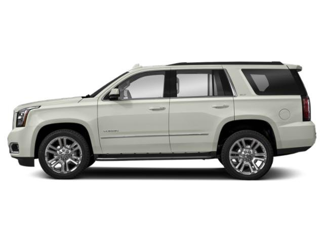 White Frost Tricoat 2019 GMC Yukon Pictures Yukon 2WD 4dr SLT photos side view