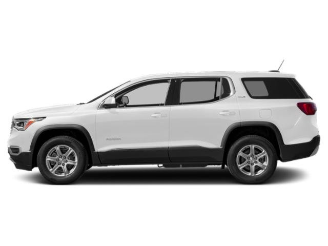 Summit White 2019 GMC Acadia Pictures Acadia FWD 4dr SLE w/SLE-1 photos side view