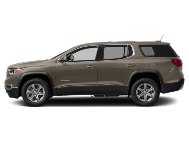 Pepperdust Metallic 2019 GMC Acadia Pictures Acadia FWD 4dr SLE w/SLE-1 photos side view