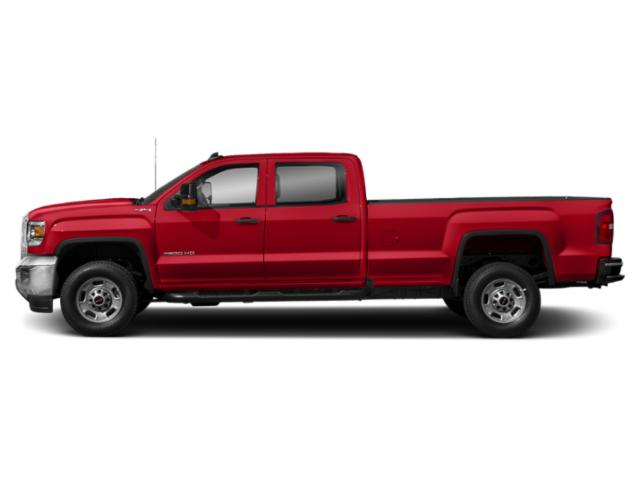 Cardinal Red 2019 GMC Sierra 2500HD Pictures Sierra 2500HD 4WD Crew Cab 167.7 SLE photos side view