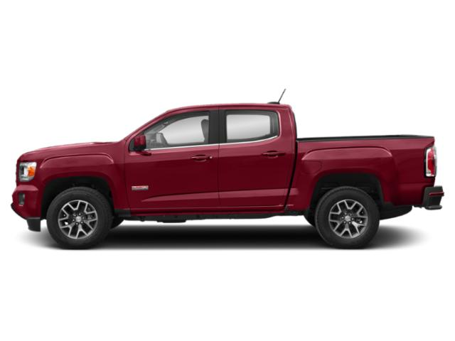 Red Quartz Tintcoat 2019 GMC Canyon Pictures Canyon 4WD Crew Cab 140.5 All Terrain w/Cloth photos side view