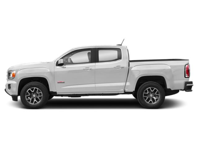Summit White 2019 GMC Canyon Pictures Canyon 4WD Crew Cab 140.5 All Terrain w/Cloth photos side view
