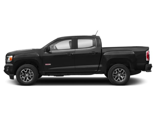 Onyx Black 2019 GMC Canyon Pictures Canyon 4WD Crew Cab 140.5 All Terrain w/Cloth photos side view