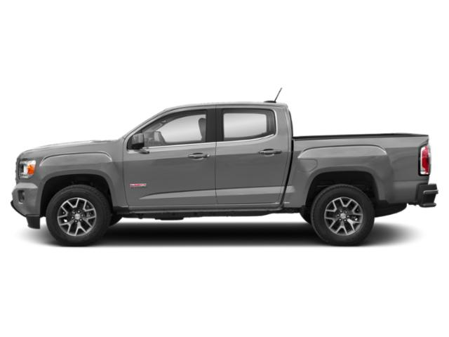 Satin Steel Metallic 2019 GMC Canyon Pictures Canyon 4WD Crew Cab 140.5 All Terrain w/Cloth photos side view