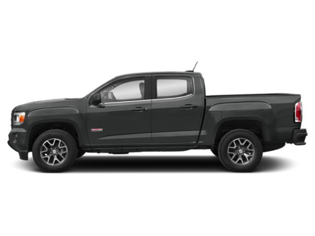 Dark Sky Metallic 2019 GMC Canyon Pictures Canyon 4WD Crew Cab 140.5 All Terrain w/Cloth photos side view