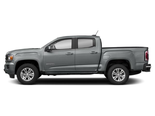 Satin Steel Metallic 2019 GMC Canyon Pictures Canyon 4WD Crew Cab 128.3 SLE photos side view